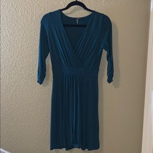 Unbelievably soft teal modal 3/4 sleeve Tart